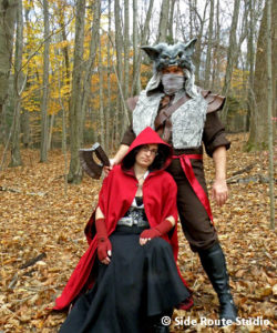 Red and the Huntsman Halloween 2009